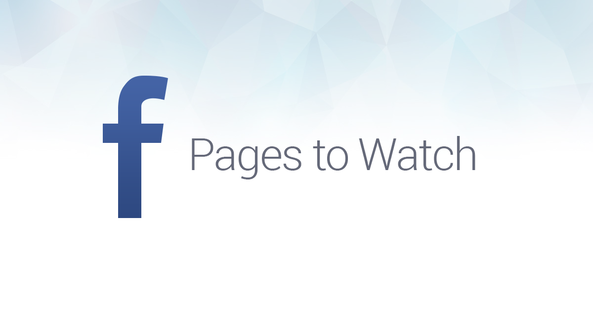 Facebook Embed Post şi Pages To Watch