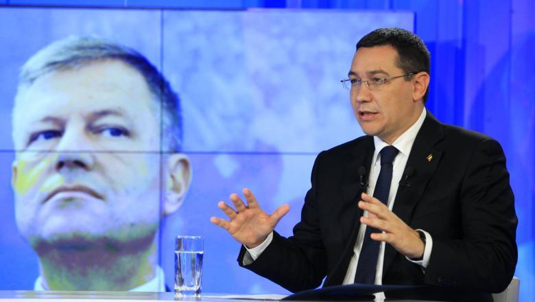 Cele mai populare mesaje pe paginile de Facebook ale lui Klaus Iohannis şi Victor Ponta în perioada alegerilor